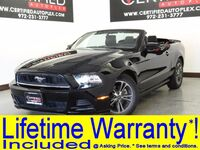 Ford Mustang CONVERTIBLE PREMIUM LEATHER SEATS SHAKER SOUND AMBIENT LIGHTING POWER LOCKS 2014