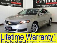 Chevrolet Impala LT BLIND SPOT MONITOR COLLISION ALERT SUNROOF REAR CAMERA REAR PARKING AID 2014