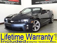 Chevrolet CAMARO ZL1 CONVERTIBLE ZL1 V8 HEADS UP DISPLAY NAVIGATION LEATHER/SUEDE HEATED SEATS REAR CAMERA 2013