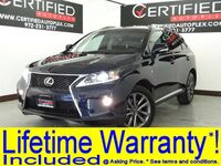 Lexus RX 350 F SPORT AWD F SPORT PKG BLIND SPOT MONITOR NAVIGATION SUNROOF LEATHER HEATED/COOLED 2013