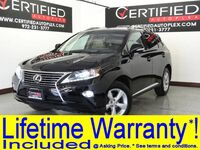 Lexus RX 350 AWD PREMIUM PKG WITH BLIND SPOT ASSIST COMFORT PKG NAVIGATION SUNROOF 2015