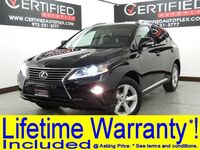 Lexus RX 350 AWD PREMIUM PKG BLIND SPOT ASSIST COMFORT PKG NAVIGATION SUNROOF LEATHER 2014