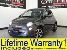 2015 FIAT 500e NAVIGATION SUNROOF HEATED SEATS REAR PARKING AID BLUETOOTH POWER LOCKS Carrollton TX