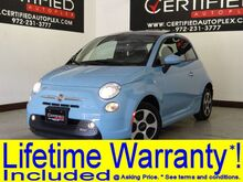 2015 FIAT 500e NAVIGATION SUNROOF HEATED SEATS REAR PARKING AID BLUETOOTH POWER Carrollton TX