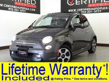 2015 FIAT 500e NAVIGATION SUNROOF HEATED SEATS REAR PARKING AID POWER LOCKS POW Carrollton TX
