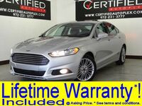 Ford Fusion SE SUNROOF LEATHER HEATED SEATS REAR CAMERA BLUETOOTH CRUISE CONTROL POWER 2016
