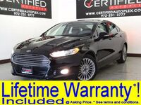 Ford Fusion TITANIUM LEATHER HEATED SEATS REAR CAMERA REAR PARKING AID SONY SOUND 2016