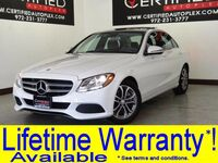 Mercedes-Benz C300 NAVIGATION PANORAMA REAR CAMERA BLUETOOTH KEYLESS START KEYLESS ENTRY 2017