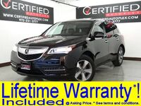 Acura MDX SUNROOF LEATHER HEATED SEATS REAR CAMERA BLUETOOTH KEYLESS START REAR A/C 2014