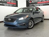 Hyundai Sonata 2.4L LIMITED TECHNOLOGY PKG BLIND SPOT MONITOR NAVIGATION SUNROOF LEATHER 2015