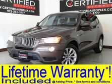 BMW X3 xDrive28i PREMIUM PKG PANORAMA LEATHER HEATED SEATS BLUETOOTH KEYLESS START 2014