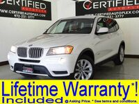 BMW X3 xDrive28i DRIVER ASSIST PKG NAVIGATION LEATHER HEATED SEATS REAR CAMERA BLUETOOTH 2014