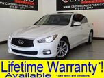 2014 INFINITI Q50 PREMIUM CONVENIENCE PKG NAVIGATION SUNROOF LEATHER HEATED SEATS REAR CAMERA