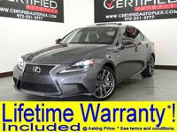 Lexus IS 350 F SPORT BLIND SPOT MONITOR NAVIGATION SUNROOF HEATED/COOLED SEATS 2015