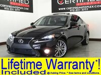 Lexus IS 250 BLIND SPOT MONITOR CONVENIENCE PKG SUNROOF LEATHER HEATED/COOLED SEATS 2014