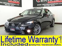 Lexus IS 250 PREMIUM PKG W/ BLIND SPOT MONITOR NAVIGATION PKG SUNROOF LEATHER 2014