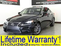 Lexus IS 250 F SPORT F SPORT BLIND SPOT MONITOR NAVIGATION SUNROOF LEATHER HEATED SEA 2014
