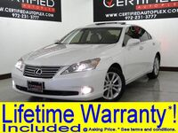 Lexus ES 350 CONVENIENCE PKG SUNROOF LEATHER HEATED/COOLED SEATS PARK ASSIST 2012
