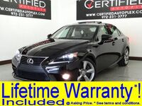 Lexus IS 350 AWD BLIND SPOT ASSIST NAVIGATION CONVENIENCE PKG SUNROOF LEATHER 2014