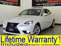 Lexus IS 250 AWD PREMIUM PKG SUNROOF LEATHER HEATED/COOLED SEATS REAR CAMERA BLUETOOTH 2014