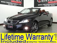 Lexus IS 350C CONVERTIBLE LUXURY PKG NAVIGATION LEATHER HEATED/COOLED SEATS REAR CAMERA PA 2014