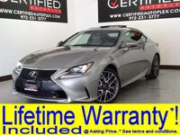 Lexus RC 350 F SPORT BLIND SPOT MONITOR NAVIGATION MARK LEVINSON SOUND SUNROOF LEATHER 2015