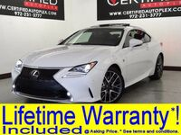 Lexus RC 350 F SPORT BLIND SPOT MONITOR LANE DEPARTURE SYSTEM SUNROOF NAVIGATION 2015