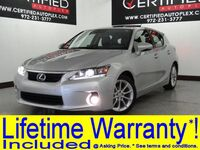 Lexus CT 200h PREMIUM PKG NAVIGATION SUNROOF SEAT COMFORT PKG HEATED SEATS REAR CAMERA 2013