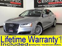 Audi A8 3.0T QUATTRO SUPERCHARGED HEADSUP DISPLAY BLIND SPOT ASSIST NAVIGATION PANO 2016