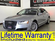 2016 Audi A8 3.0T QUATTRO SUPERCHARGED HEADSUP DISPLAY BLIND SPOT ASSIST NAVIGATION PANO Carrollton TX