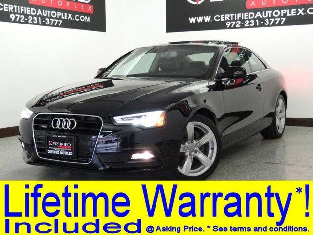 2014 Audi A5 COUPE 2.0T QUATTRO PREMIUM PLUS BLIND SPOT MONITOR MMI NAVIGATION PLUS PKG Carrollton TX