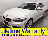 BMW 228i COUPE TECHNOLOGY PKG NAVIGATION SUNROOF LEATHER HEATED SEATS BLUETOOTH REAR A/C 2014