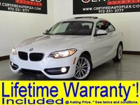 BMW 228i SPORT SUNROOF LEATHER SEATS BLUETOOTH PADDLE SHIFTERS REAR A/C POWER LOCKS 2016