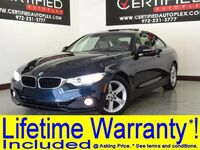BMW 428i COUPE NAVIGATION SUNROOF LEATHER HEATED SEATS PADDLE SHIFTERS BLUETOOTH 2014