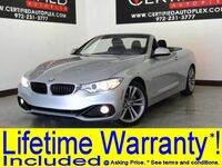 BMW 428i CONVERTIBLE SPORT PKG LEATHER SEATS PADDLE SHIFTERS BLUETOOTH POWER LOCKS POWER SEATS 2016