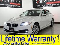 BMW 528i xDrive PREMIUM PKG DRIVER ASSIST PLUS PKG DRIVER ASSIST PKG BLIND SPOT MONITOR 2016