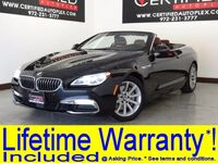BMW 640i CONVERTIBLE NAVIGATION LEATHER SEATS BLUETOOTH PADDLE SHIFTERS POWER LOCKS POWER SEATS 2016