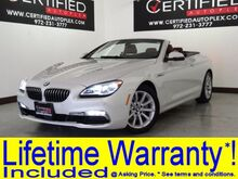 2016 BMW 640i CONVERTIBLE NAVIGATION LEATHER HEATED SEATS REAR CAMERA PARK ASSIST REAR PARKING AID Carrollton TX
