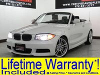 BMW 135i CONVERTIBLE MSPORT PREMIUM PKG TECHNOLOGY PKG NAVIGATION HARMAN KARDON SOUND LEATHER 2013