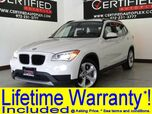 2014 BMW X1 xDrive35i ULTIMATE PKG COLD WEATHER PKG NAVIGATION PANORAMA LEATHER HEATED SEATS