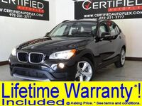 BMW X1 xDrive35i PREMIUM PKG TECHNOLOGY PKG COLD WEATHER PKG NAVIGATION PANORAMA LEATHER 2013