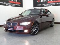 BMW 328i COUPE SPORT PKG SUNROOF LEATHER HEATED SEATS REAR PARKING AID BLUETOOTH 2009
