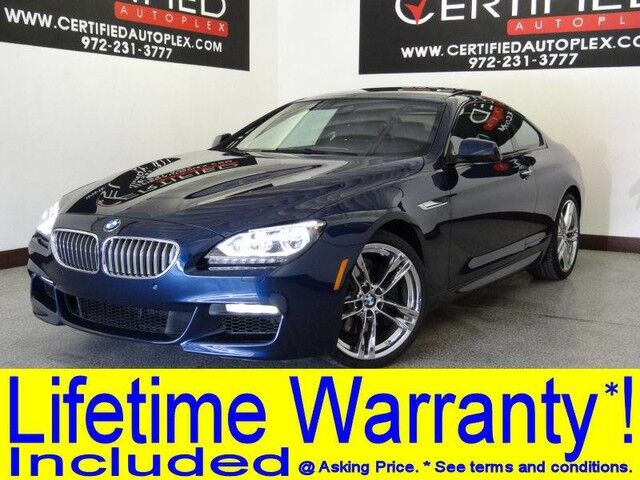 2014 BMW 650i COUPE M SPORT PKG DRIVER ASSIST PLUS BLIND SPOT ASSIST LANE DEPARTURE Carrollton TX