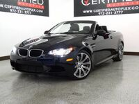 BMW M3 CONVERTIBLE PREMIUM PKG NAVIGATION LEATHER HEATED SEATS REAR PARKING AID BLUETOOTH 2013