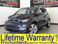 BMW i3 REX MEGA WORLD NAVIGATION REAR PARKING AID BLUETOOTH KEYLESS START 2014