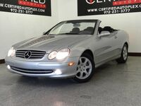 Mercedes-Benz CLK320 CONVERTIBLE LEATHER POWER SEATS POWER WINDOWS POWER LOCKS POWER MIRRORS CRUISE CONTROL 2004