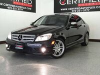 Mercedes-Benz C350 SPORT NAVIGATION SUNROOF HARMAN KARDON SOUND LEATHER HEATED SEATS BLUETOOTH 2008