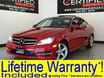 2014 Mercedes-Benz C250 COUPE PANORAMA NAVIGATION LEATHER BLUETOOTH POWER LOCKS POWER WINDOWS
