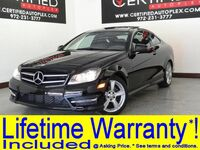 Mercedes-Benz C250 COUPE MULTIMEDIA PKG WITH NAVIGATION PANORAMA KEYLESS GO REAR CAMERA POWER LOCKS 2014