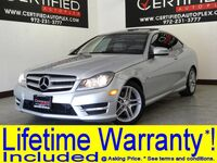 Mercedes-Benz C350 COUPE SPORT PKG AMG PKG BLUE EFFICIENCY NAVIGATION PANORAMA LEATHER HE 2012